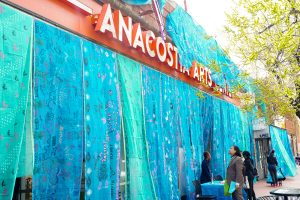 WRAPture Installation Final Day @ Anacostia Arts Center