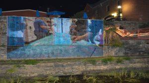 WARMING WATERS public art livestream @ https://www.facebook.com/StorytellingWithSaris/